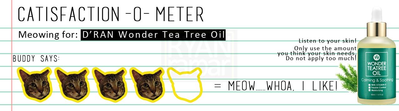 d ran wonder tea tree essence review