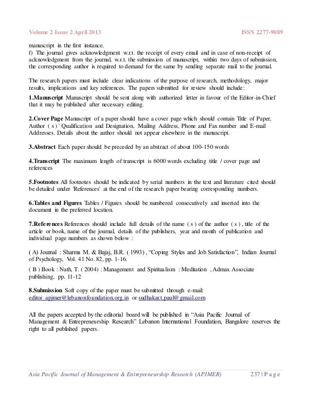 asia pacific education review manuscript submission