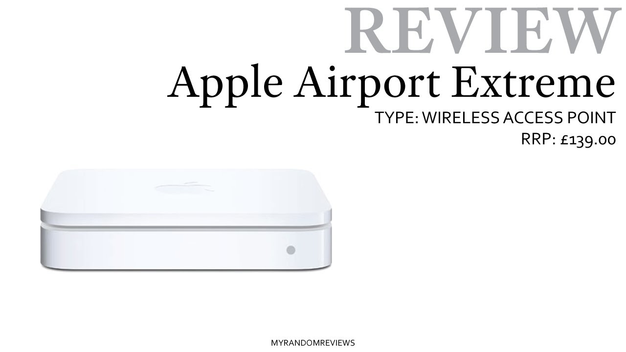 apple airport extreme ac review