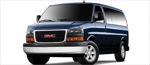 gmc savana passenger van reviews