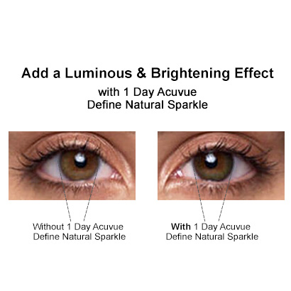 acuvue define natural shimmer review