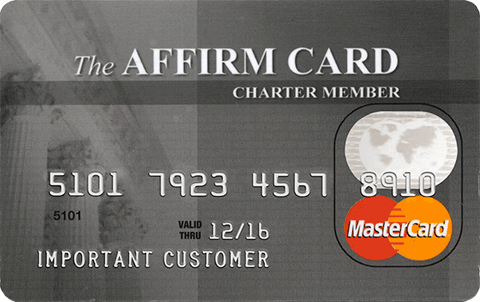 affirm financial credit card review