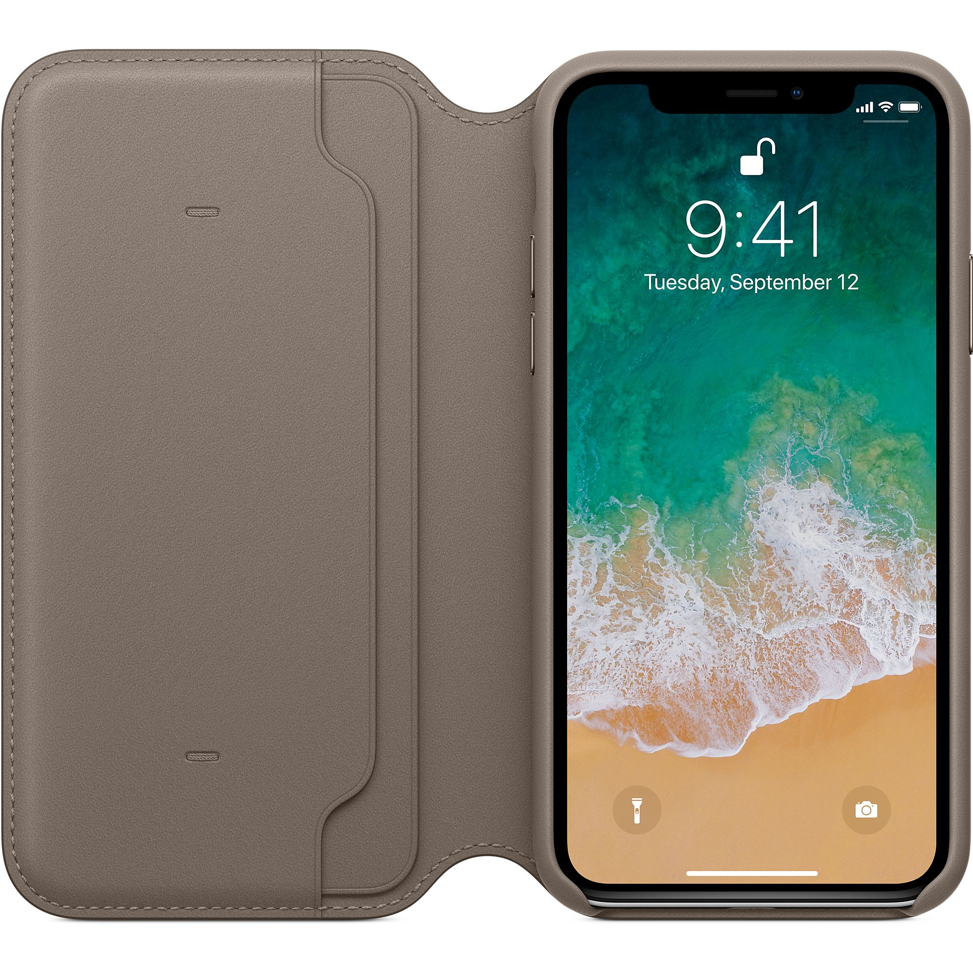 apple iphone x folio case review