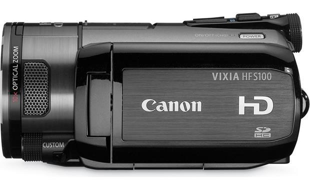 canon vixia hf s100 review