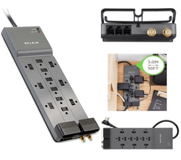 belkin 12 outlet surge protector review