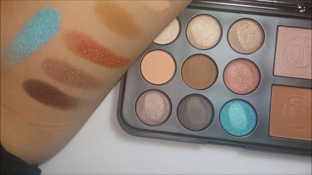 bh cosmetics brushes review youtube