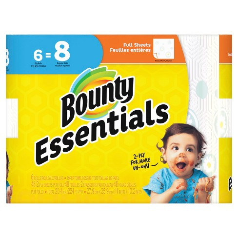 bounty basic paper towels reviews
