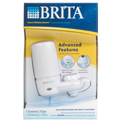 brita faucet filtration system review