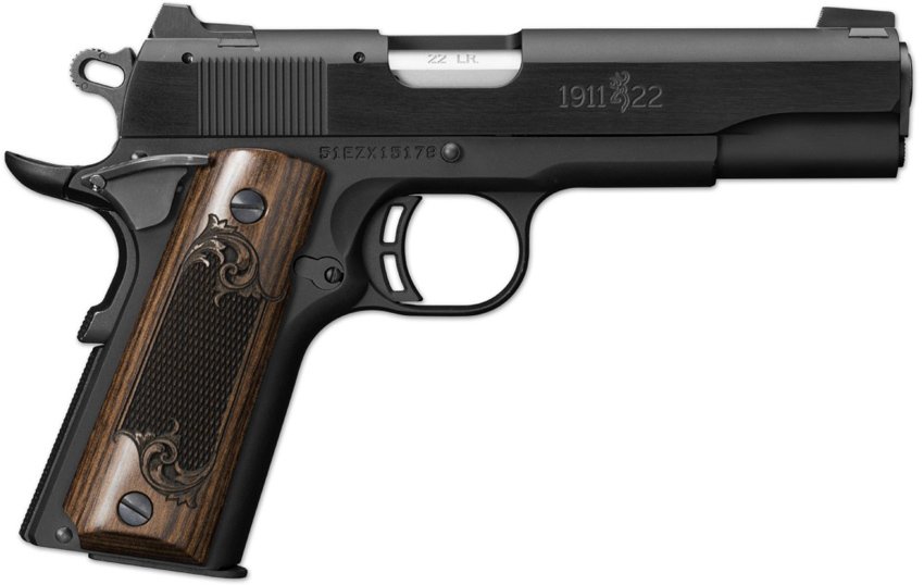 browning 1911 22 black label review