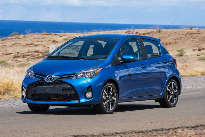 2018 toyota yaris hatchback review