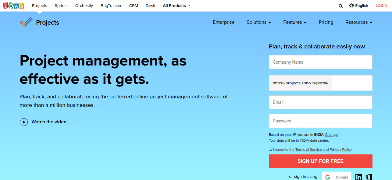 cloud based project management software review