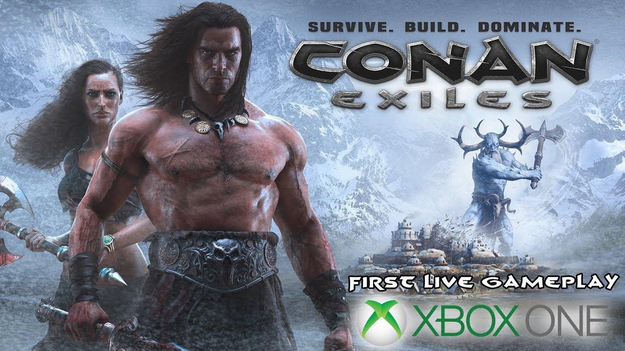 conan exiles review xbox one