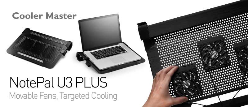 cooler master notepal u3 plus review