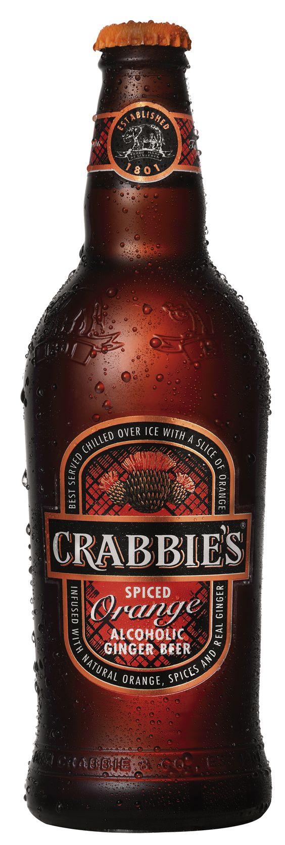 crabbies orange ginger beer review