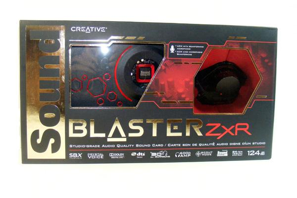 creative labs sound blaster zxr review