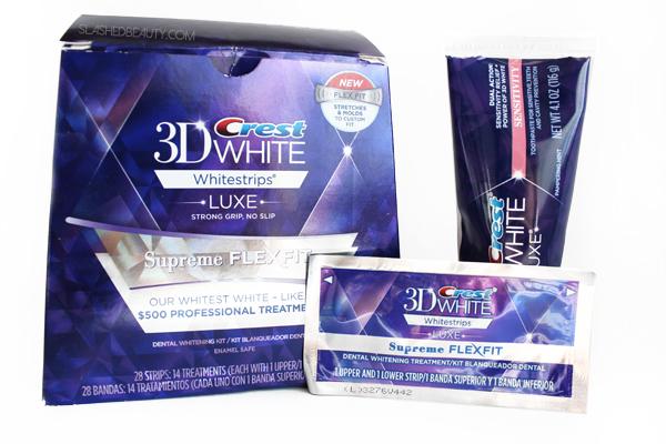 crest whitestrips supreme flexfit review