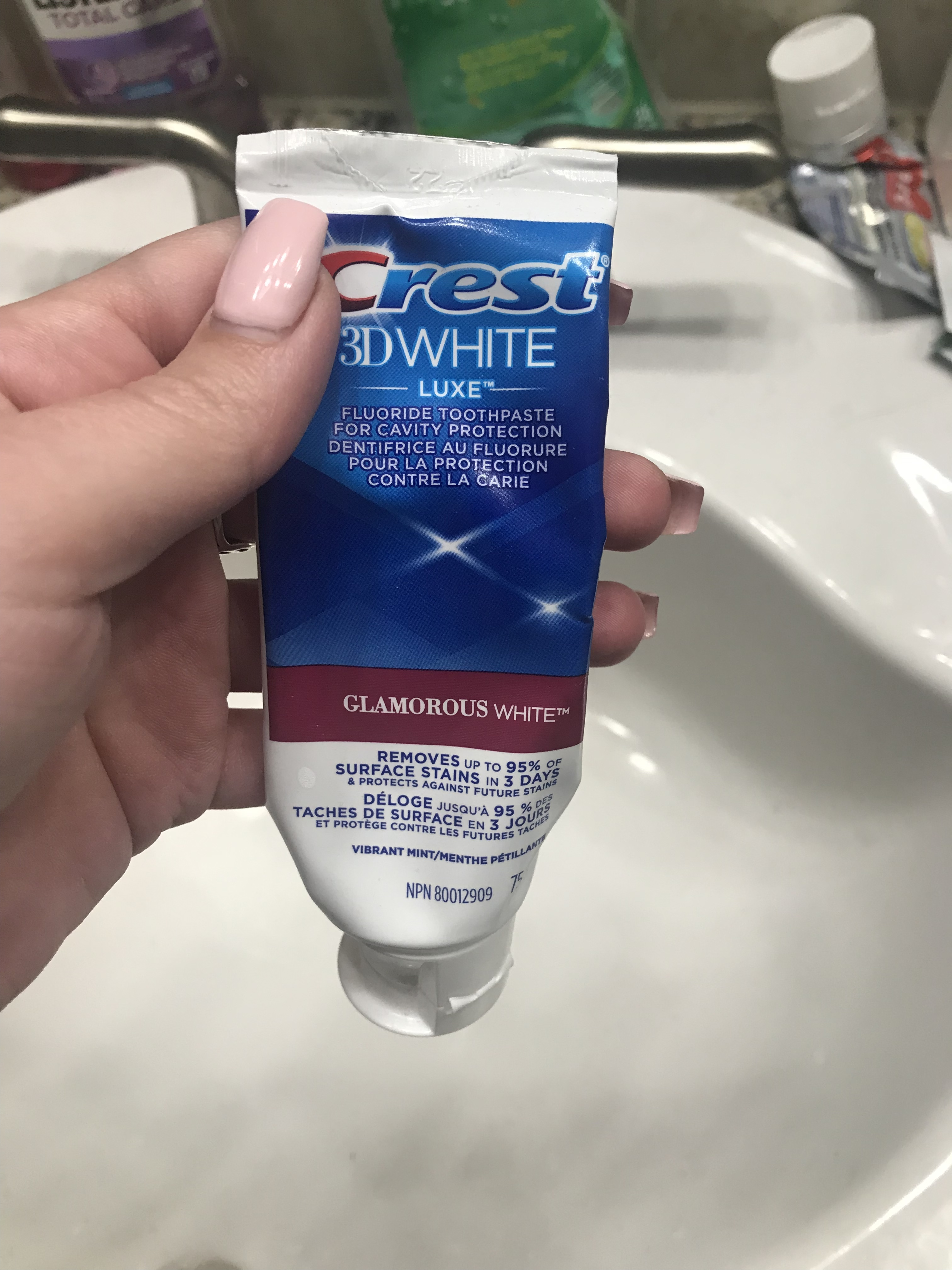 crest 3d luxe toothpaste review