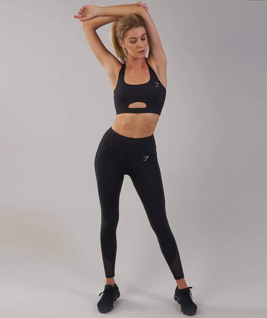 gymshark sleek sculpture leggings 2.0 review