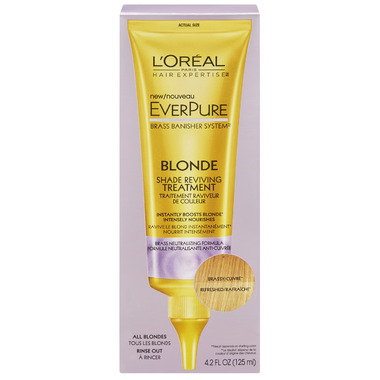 l oreal everpure blonde shade reviving treatment review