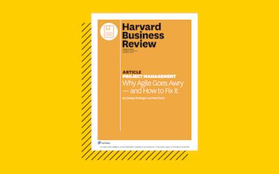 embracing agile harvard business review