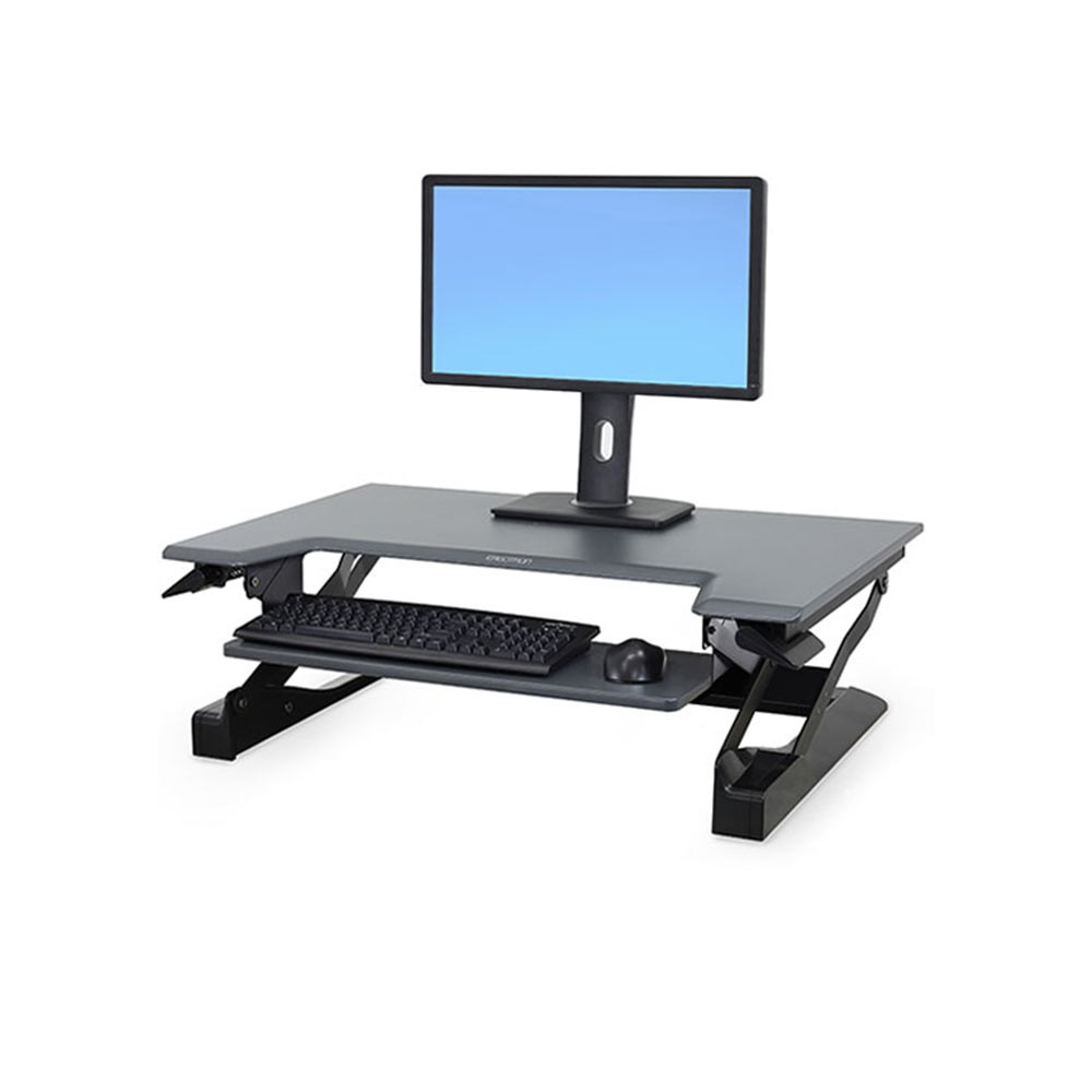 ergotron workfit d sit stand desk review