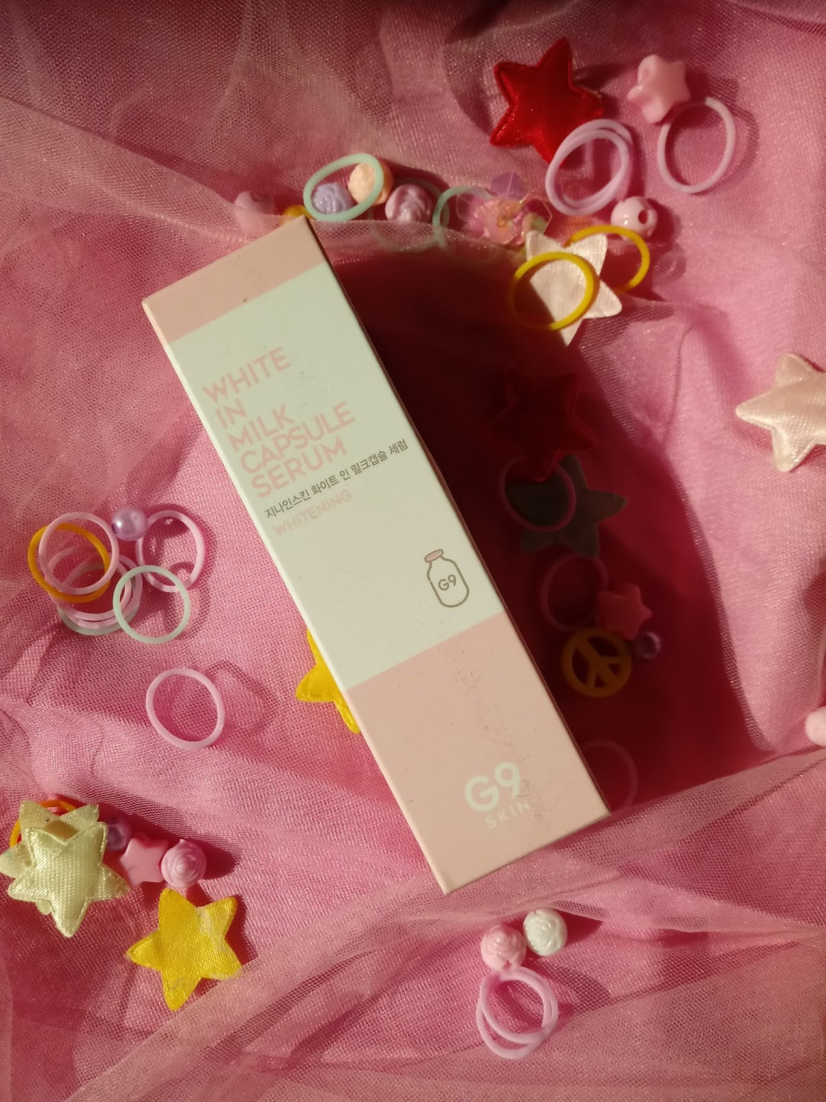 g9skin white in milk capsule serum review