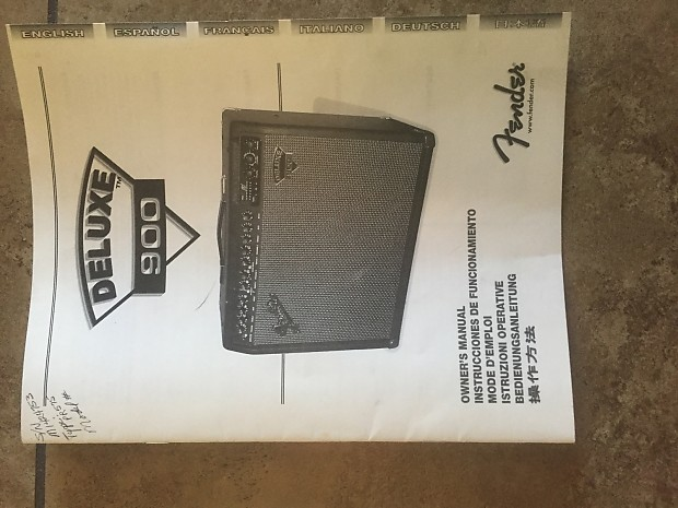 fender deluxe 900 amp review