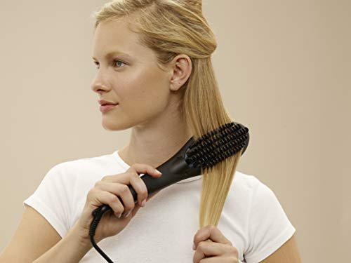 flow ceramic straightening brush reviews