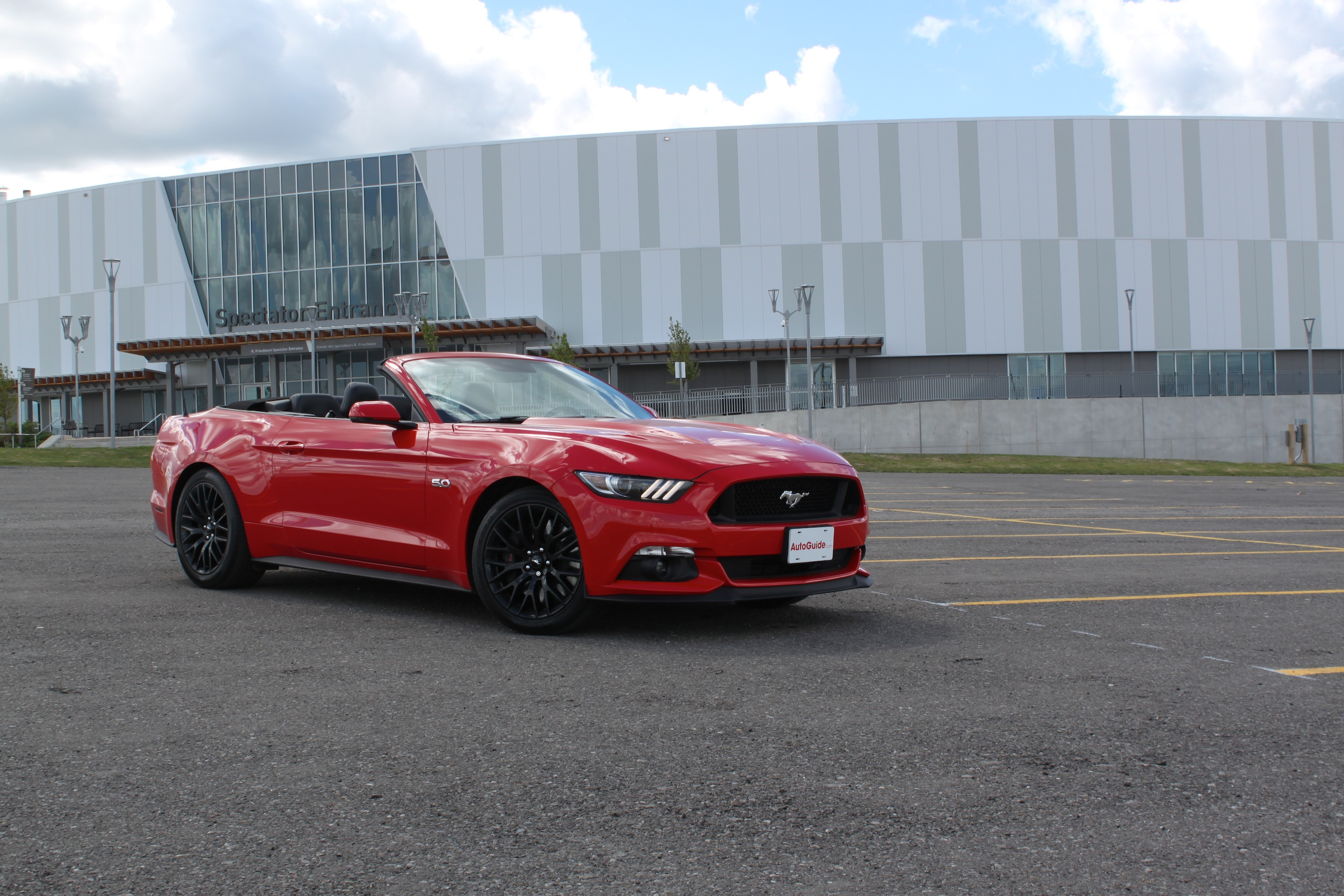 ford mustang gt convertible review