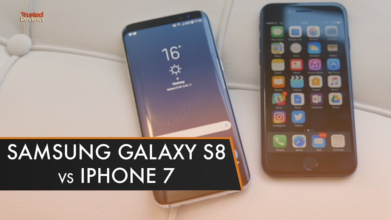 galaxy s8 vs iphone 7 plus review