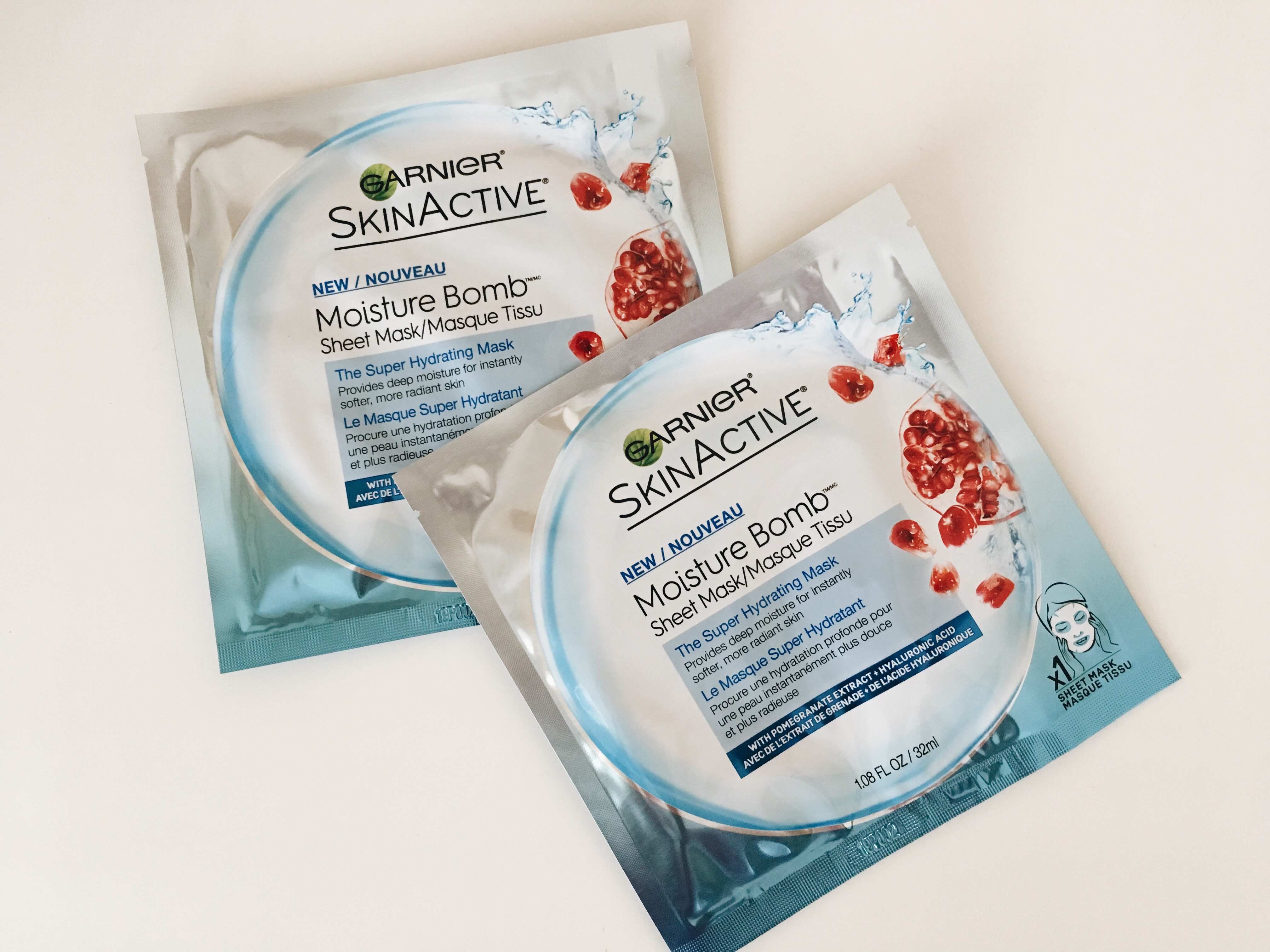 garnier moisture bomb sheet mask review