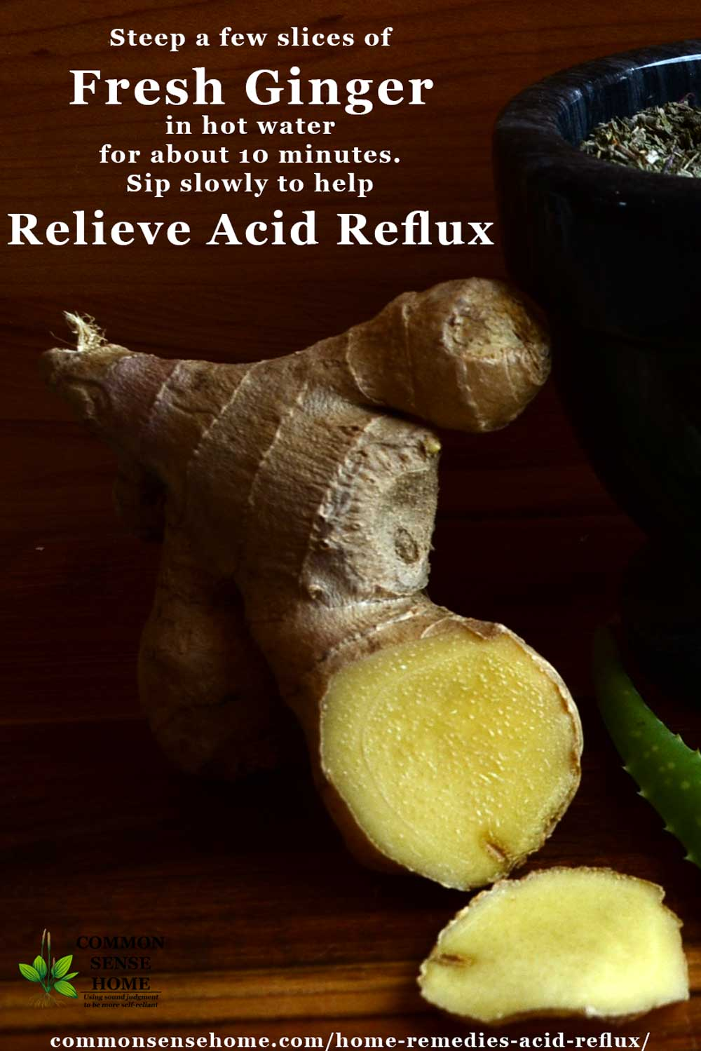 ginger for acid reflux reviews