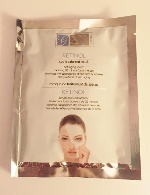 global beauty care retinol mask reviews
