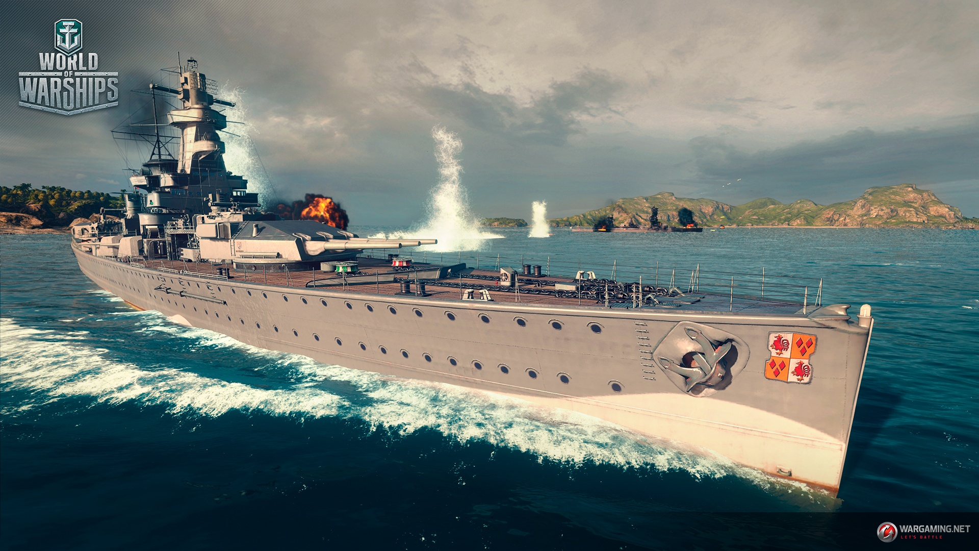 graf spee world of warships review