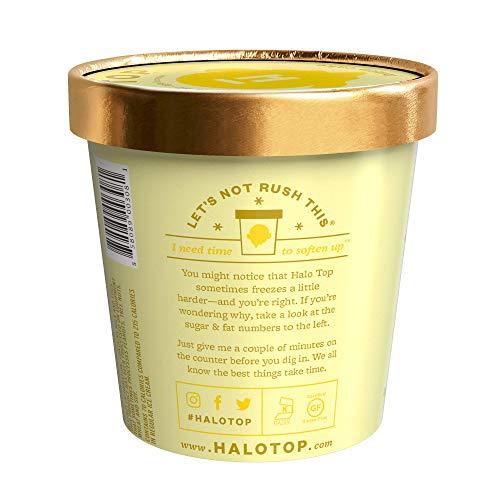 halo top lemon cake review