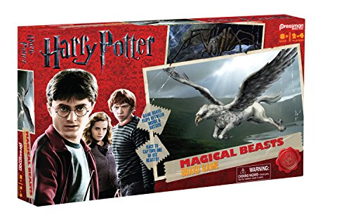 harry potter magical beasts board game review