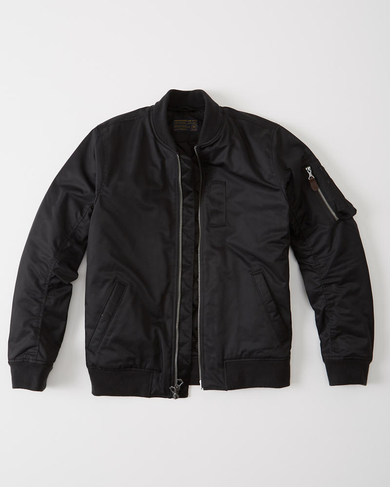 h&m nylon bomber jacket review