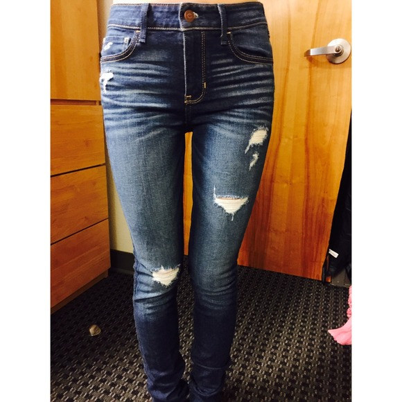 hollister high waisted jeans review