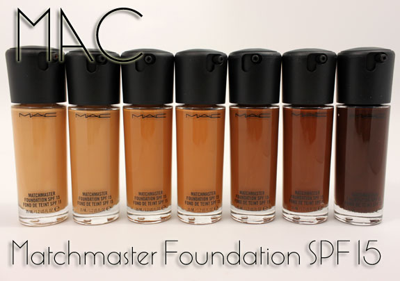 matchmaster spf 15 foundation review