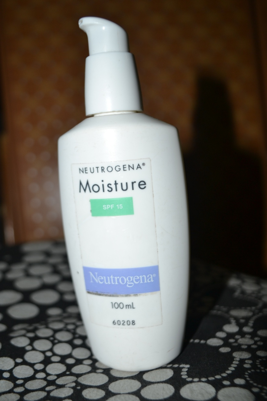 neutrogena moisture spf 15 review