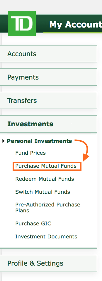 td e series mutual funds review