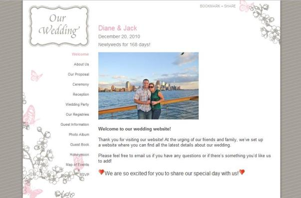 the knot wedding website reviews