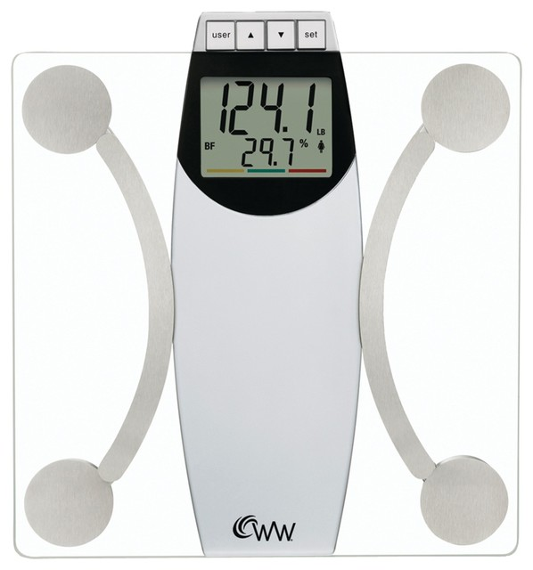 weight watchers digital glass and chrome scale review